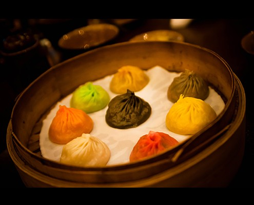 The world first 8-flavored xiao long bao