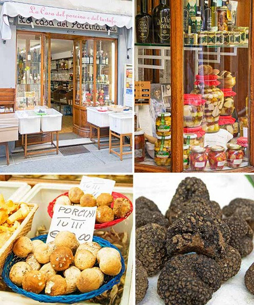 Mushrooms and Truffles shop