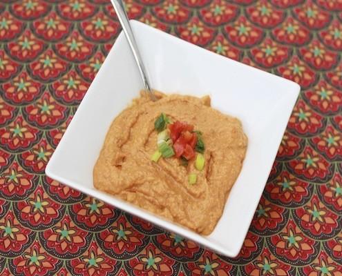 Creamy Pumpkin Peanut Soup