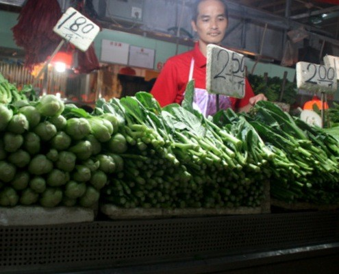 Vegetable Stall at the Market