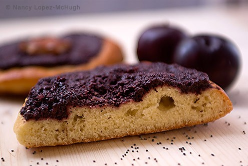 Czech Inspired Poppy Plum Tarts