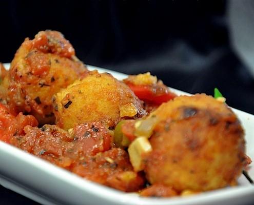 Vegetarian meatballs paneer potato koftas honest cooking vegetarian meatballs paneer potato koftas forumfinder Gallery