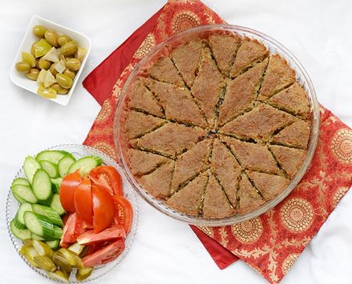 baked kibbeh