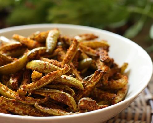Spicy Ivy Gourd Roast