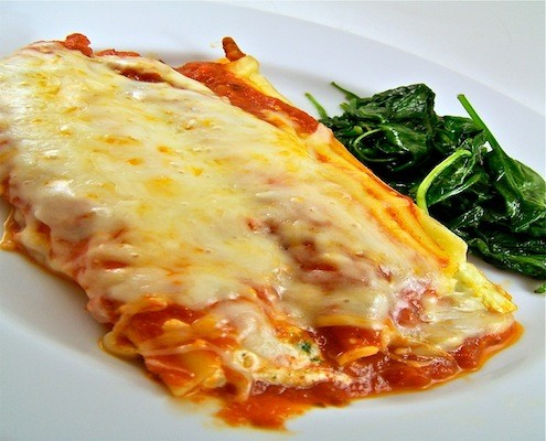 baked canelloni