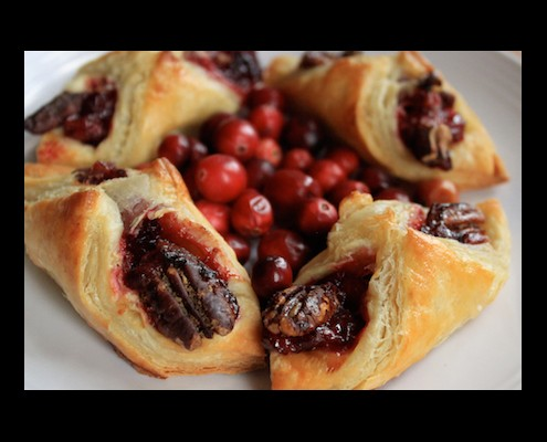 Cranberry Pastry Appetizer