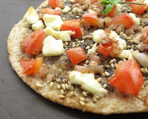 Zaatar Pizza