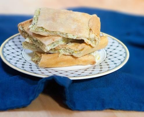 Leek Celery Pie