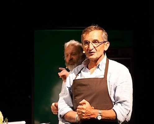The legendary Michel Bras at MAD Foodcamp earlier this year