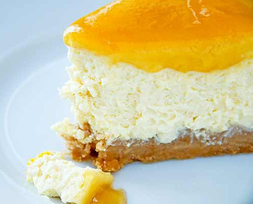 Orange Cheesecake Recipe — Dishmaps