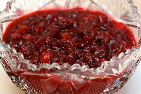 Spicy Cranberry Apple Chutney – Honest Cooking