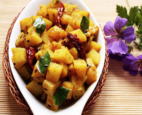 Indian Aloo Recipe How To Make A Perfect Indian Potato Fry
