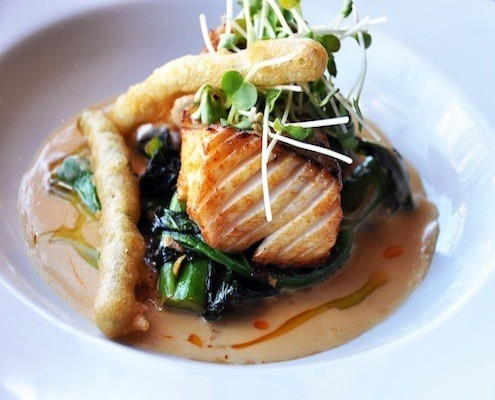 Curry Miso Cod