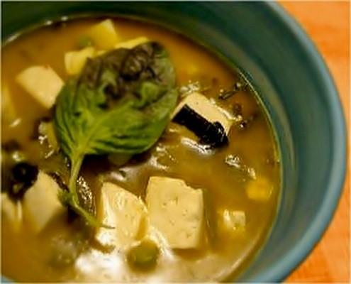 tofu-soup