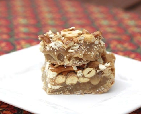 Cooking the Magazines: Butterscotch Blondie Bars with ...