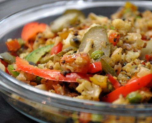 Minced Gobi Salad