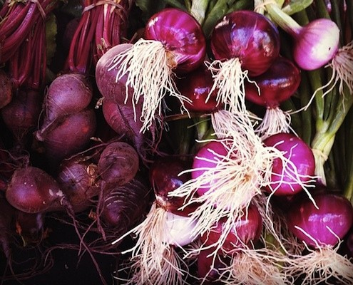 Onions Beetroots