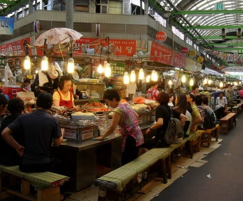 Street Food Of South Korea