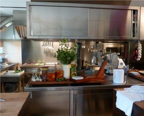 Kitchen at da Pulierin