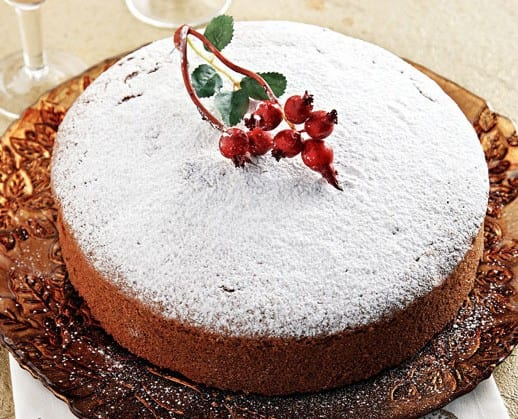 sucrèe: Vasilopita the Greek New Year's cake