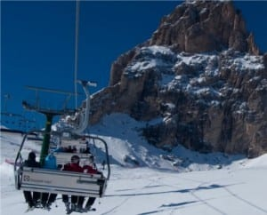 ski holiday at Val Gardena, Italy