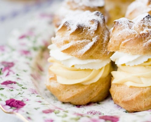 the perfect cream puffs