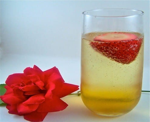 a simple romantic drink