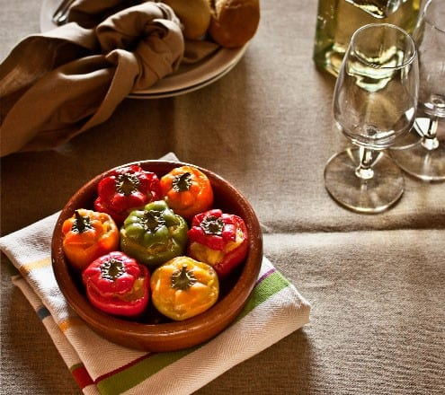 ... of Tapas: Stuffed Mini Peppers with Spanish Tortilla - Honest Cooking