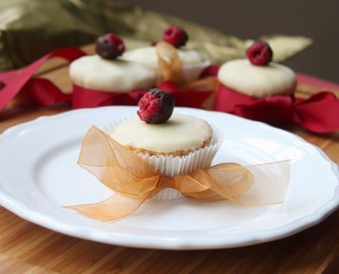 Almond Poppy Seed Cupcakes