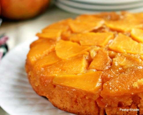 Mango Upside Down Cake Recipe