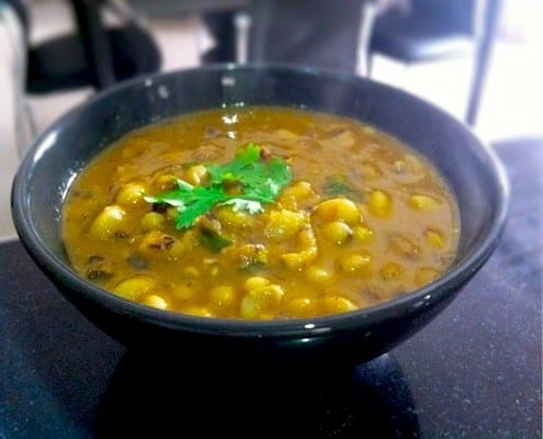 Indian Style Black Eyed Peas