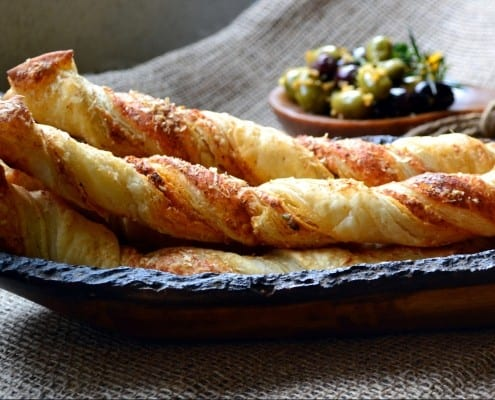 Whole Wheat Puff Pastry Cheese Sticks2