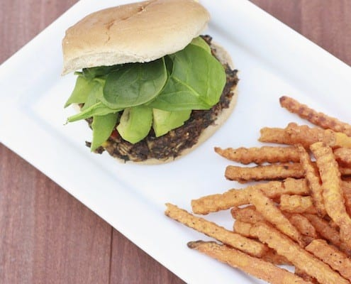 Black Bean Corn Burgers