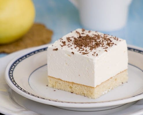 Yogurt Cream Cake – Honest Cooking