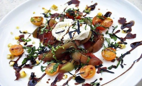 Buratta & Local Heirloom Caprese Salad