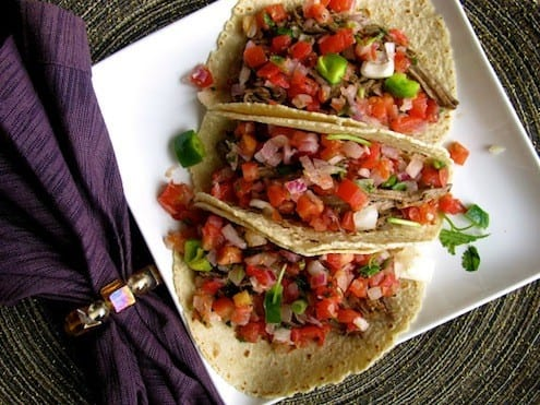 Baja Beef Tacos