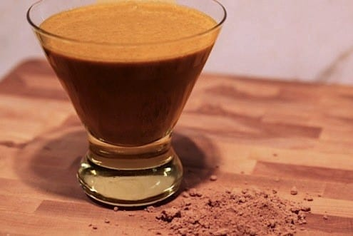 Cacao Flax Smoothie