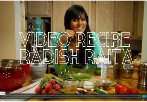 Radish Raita