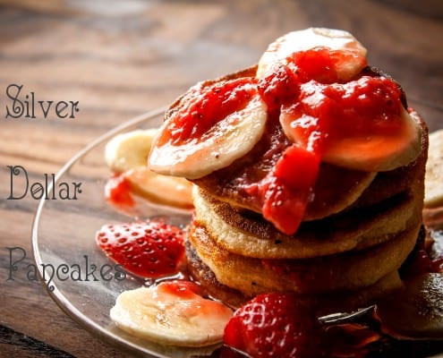 Strawberry and Banana Pancakes