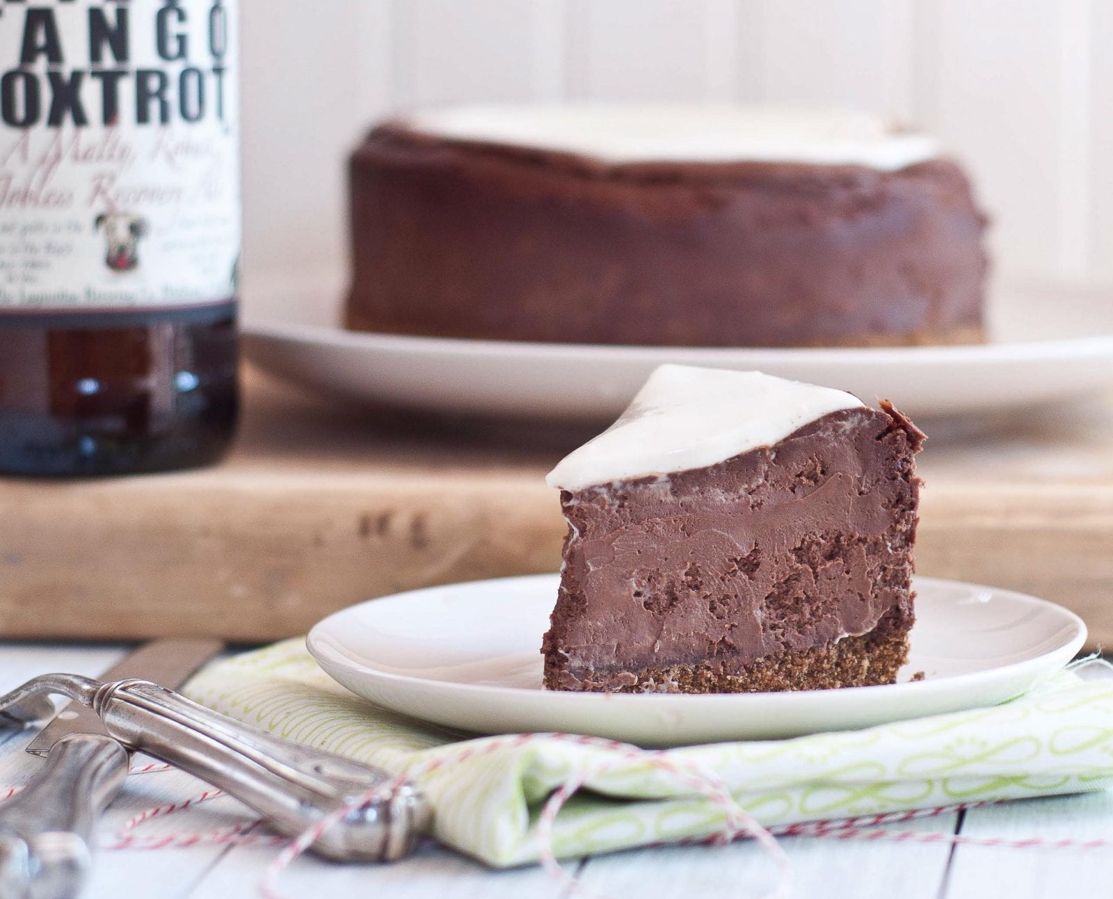 beer cheesecake
