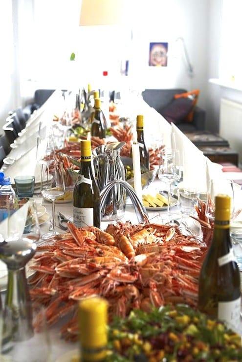 Faroese Langoustine Feast