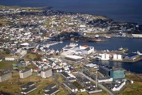 Torshavn from above