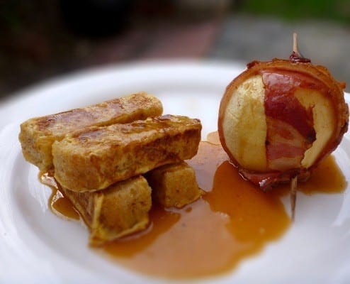 Baked Bacon Apple