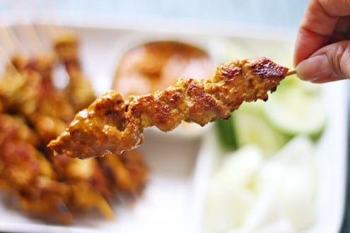 But Chicken Satay is not complete without the satay sauce! The sauce ...