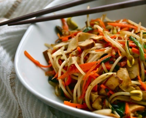 Stir Fry close up