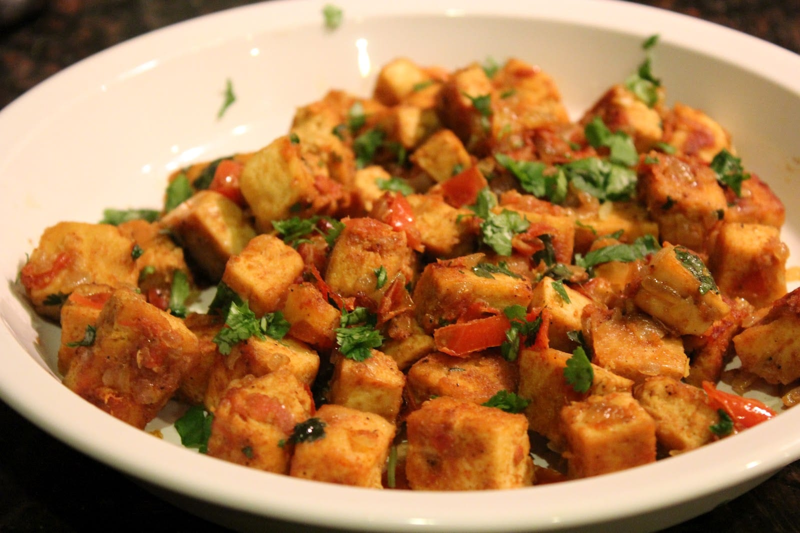 Indian Curried Tofu Recipe On Honest Cooking