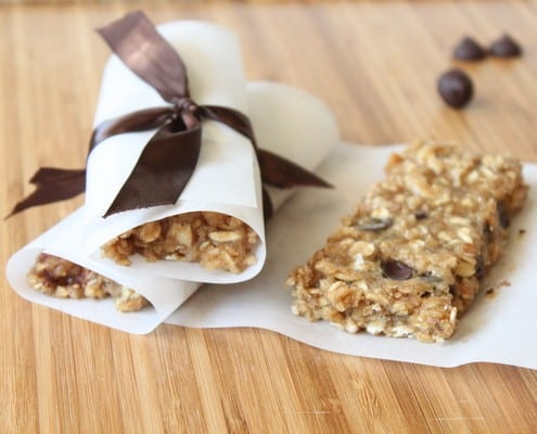 Banana Oat Energy Bars