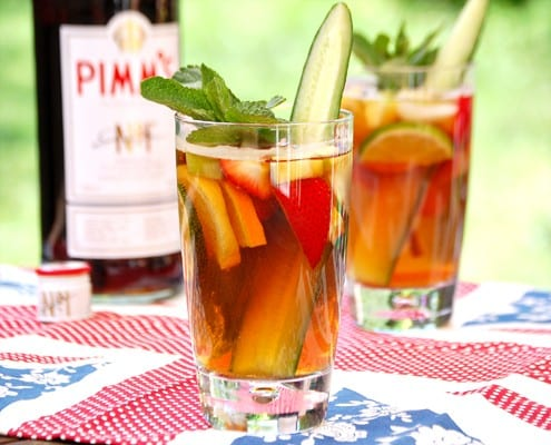Bite of Britain: Pimm's No.1 Cup Cocktail – Honest Cooking