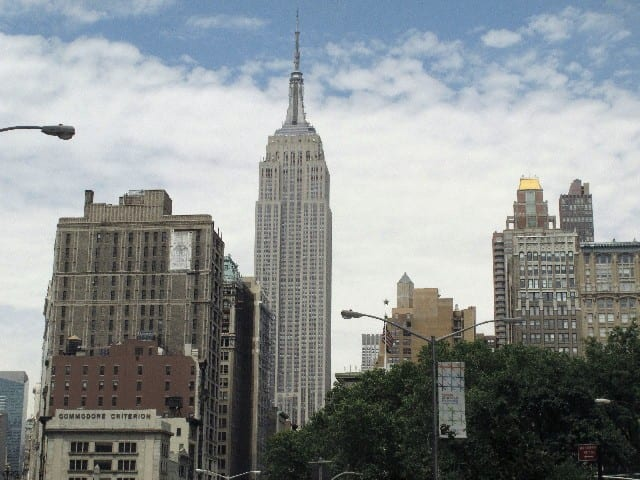 Empire State from Madison Square Park