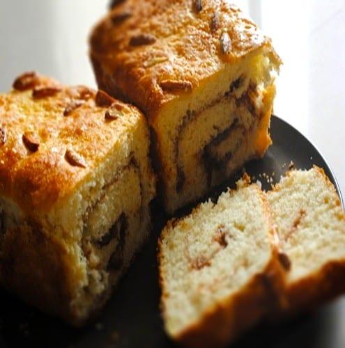 Cinnamon Cardamom Swirl Bread